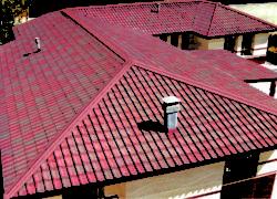 Укладка крыши из ондулина