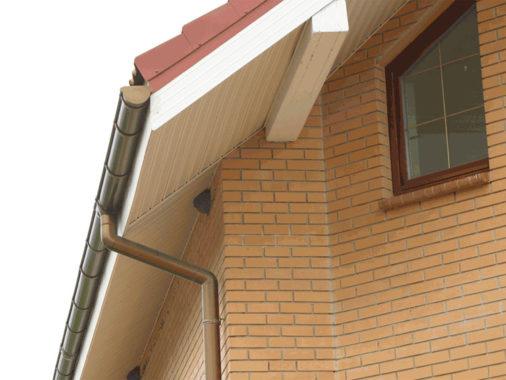 Подшивка для крыши из пластика