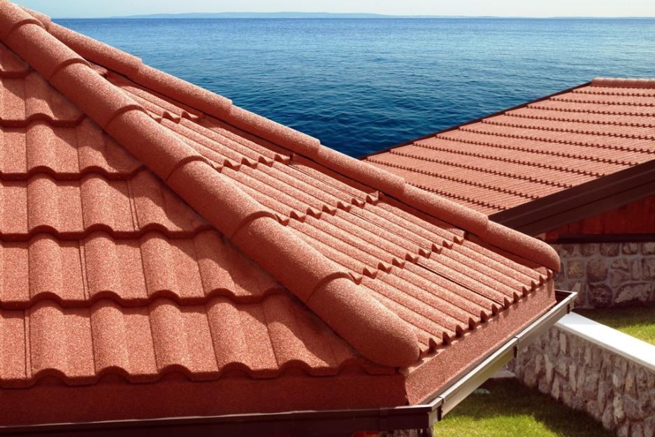 Вид крыши из композита