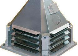 Виды и монтаж крышных вентиляторов дымоудаления