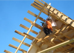 Особенности конструкции деревянной кровли