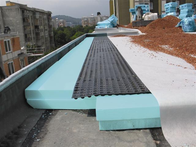 Обустройство плоской крыши