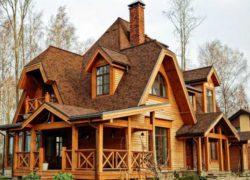Устройство стропильной системы многощипцовой крыши