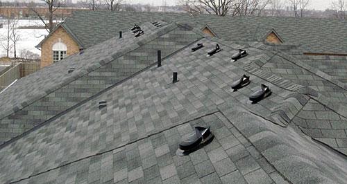 Крыша с вентиляцией