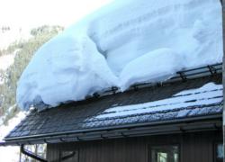 Разновидности и установка снегозадержателей на крыши из профнастила